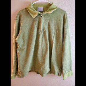 Fresh Produce Green Large Sweater
